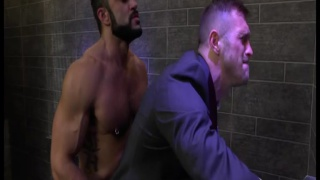 hairy alpha males in suits