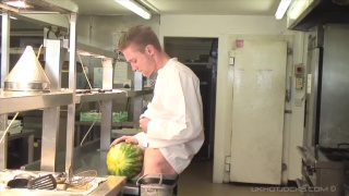 JP Dubois fucks chef in the ass