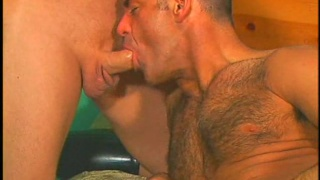 Hot hairy fuck scene