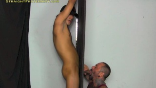 cute jocks first gloryhole blowjob