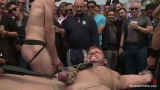Brian Bonds Subs at Dore Alley Street Fair