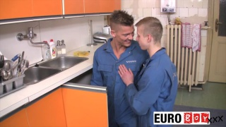 JUNIOR APPRENTICES - Damian and Justin