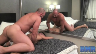 Tyler Reed and Dylan Saunders bareback