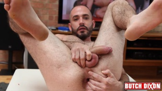 David Pedroso shows hairy hole