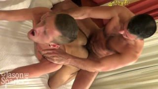 Elliott Vance and Nick Tiano bareback in Chattanooga