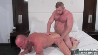Shay Michaels and Chad Brock bareback