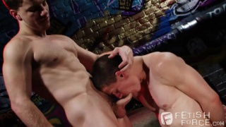 Doug Acre & Tyler Sweet at fetish force