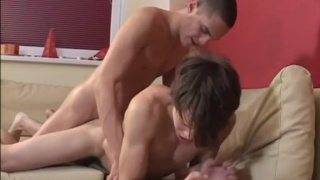 Samuel Hoffman and Joshua Black fuck