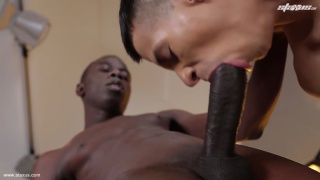 Alejandro Marbena and Will Sims at Staxus