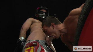 Alexander Gustavo and Dylan Strokes in Extreme Fuck Club