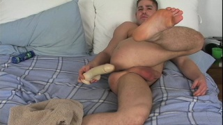 Eric Savage Tames his Wild Dildo