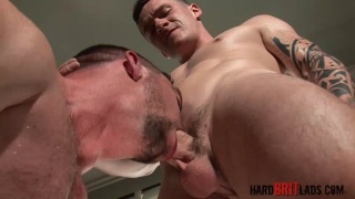 Daniel James and Scott Hunter