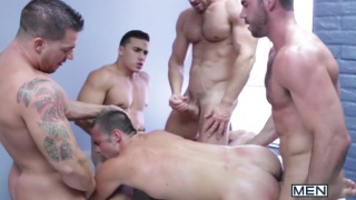 Gaywatch Part 4 - The Orgy