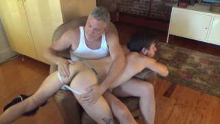 Riley gets a sweaty aggressive fuck
