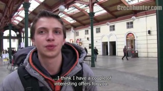 Czech boy picked up in train station