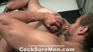 Conner Habib and Brock Avery fuck