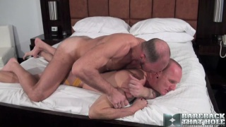 Randy Harden and Mason Garet bareback