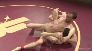 Silas O'Hara vs Kirk Cummings naked wrestling
