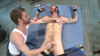 Christian Wilde gets cock edged