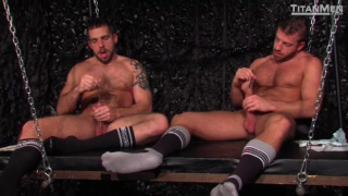 Hunter Marx and Johnny Parker in Power Play