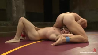 Doug Acre vs Landon Conrad Wrestling Naked