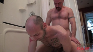 Daddy Troy Miller barebacks Sean Bonar