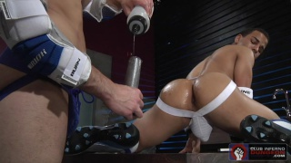 Dylan Strokes & Trelino at club inferno dungeo