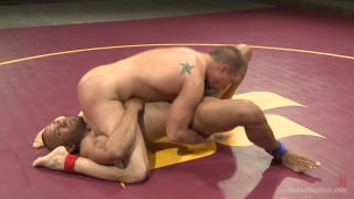 Eli Hunter vs Troy Sparks naked wrestling
