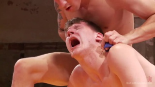 Dakota Wolfe vs Scotty Cage at naked kombat