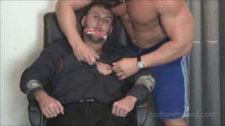James Revel bondage torture in chair