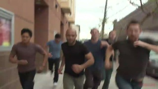Seamus O'Reilly fucked by Leo Forte's Gang