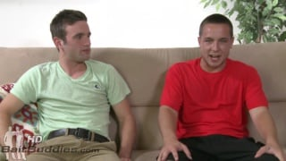 Straight guy Tony Belize fucks gay guy Andrew Collins