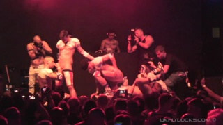 London Hustlaball sex show