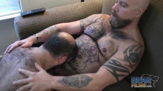 Daddy Lucas and Machael Johnson sucking