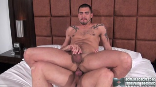 Kyle Savage and Sage Daniels bareback
