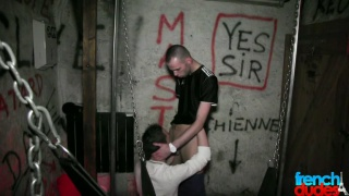 French boys hookup in sex club