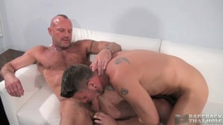Bareback stars Christian Matthews and Chad Brock