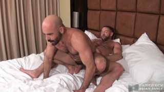Shay Michaels and Adam Russo bareback fucking