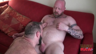 Scott Irish and Troy Webb bareback