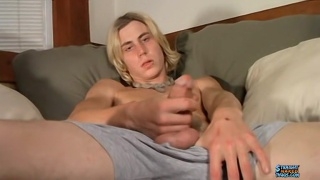 Surfer Jacks His Juicy Hard Cock