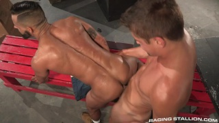 filthy fucks starring Austin Chandler & David Benjamin