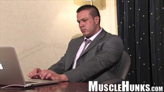 The Muscleman in the Grey Flannel Suit - Joro Welsh