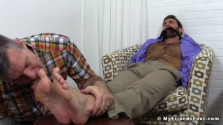 Chase LaChance Tied Up, Gagged and Foot Worshiped