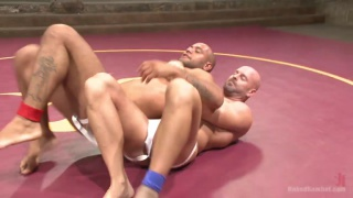 mitch vaughn and leo forte wrestling naked