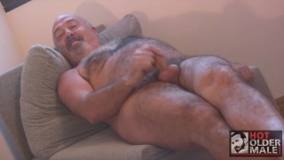 sexy spanish daddy with fat uncut meat