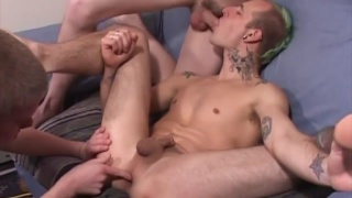 Str8 Boys Shawn Cohen, Torque and Dawson Denton Fuck