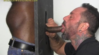 Tyler at the Gloryhole