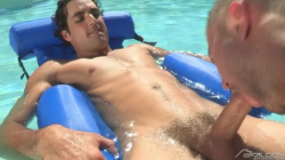 poolside with Jack King & Colt Rivers