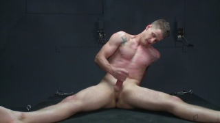 blond boy Seth in BDSM session