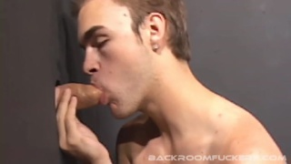 Backroom Buddies - Glory Hole To Asshole